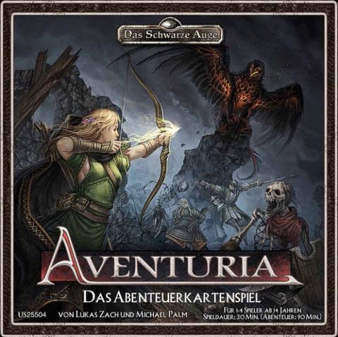 Das Schwarze Auge: Aventuria - Card illustrations