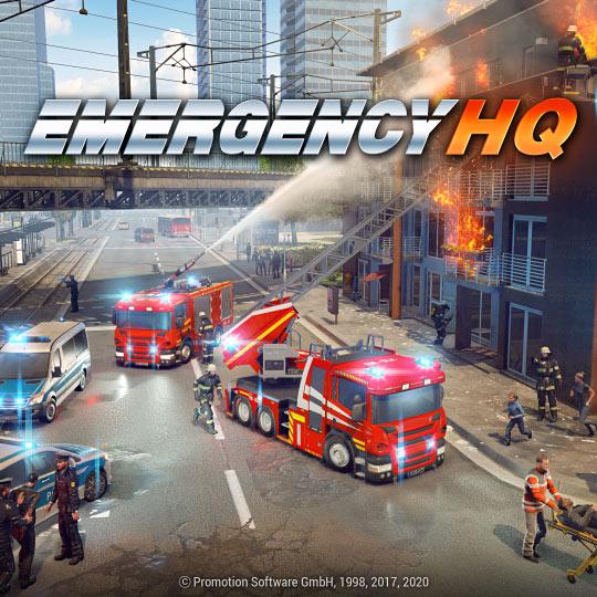 EMERGENCY HQ - 2D art, gui design
